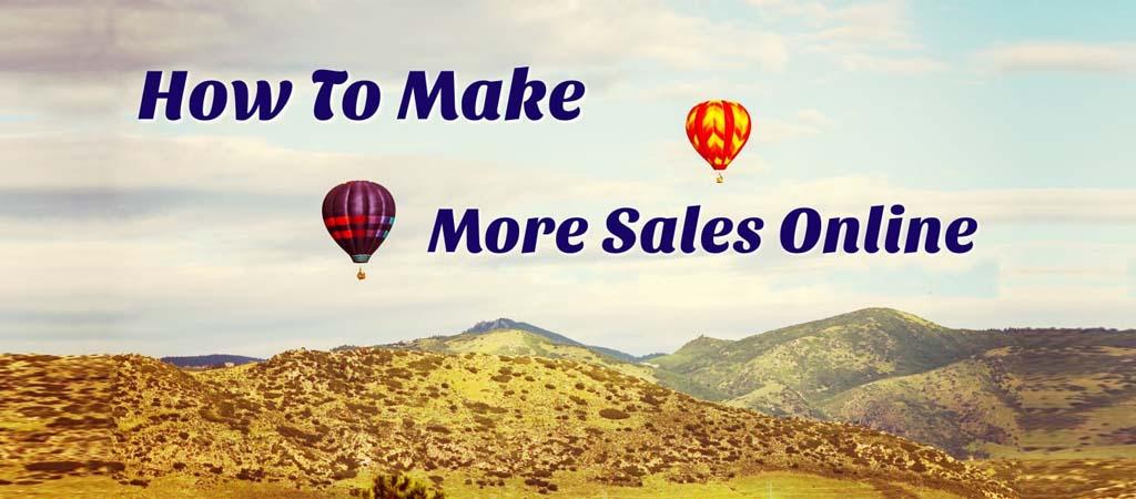 101 Ways To Make More Sales Online