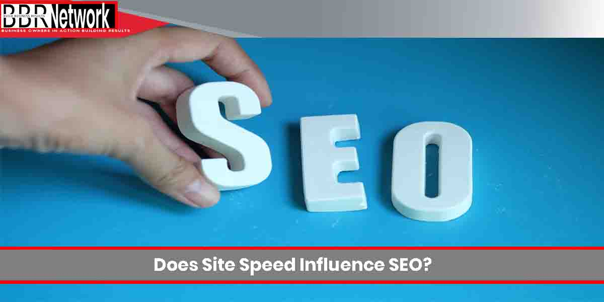 Does site speed influence SEO