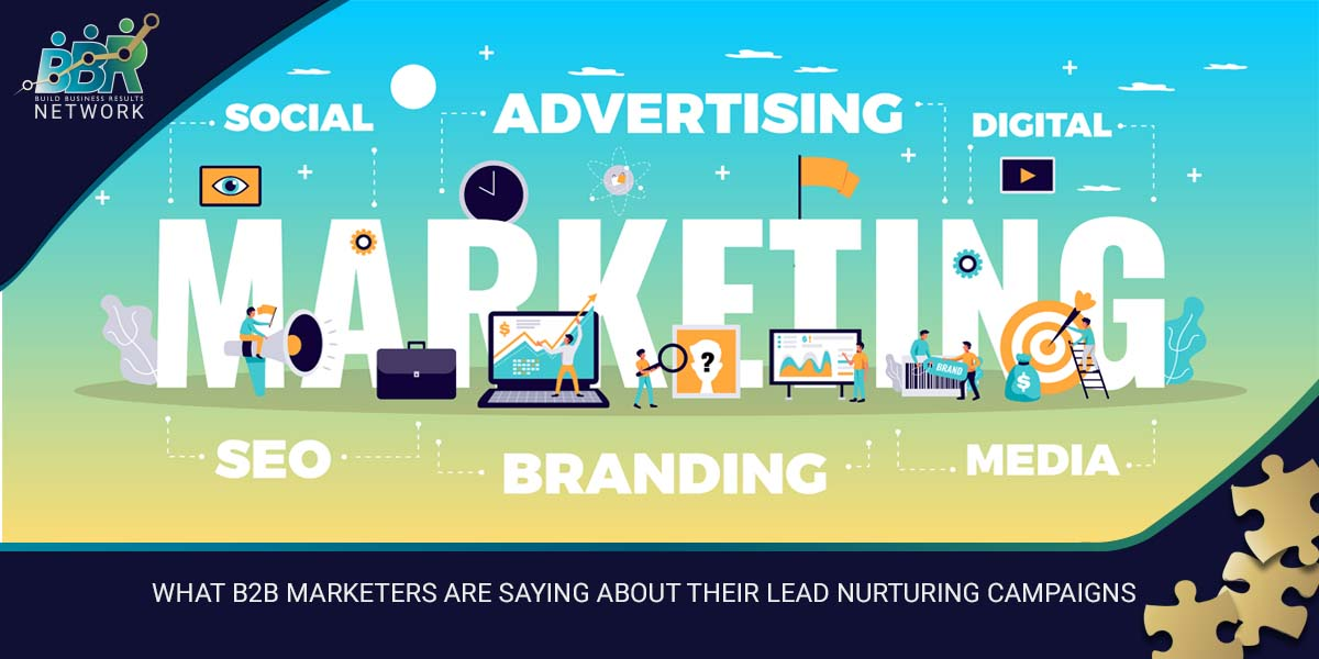 WHAT B2B MARKETERS ARE SAYING ABOUT THEIR LEAD NURTIGNS