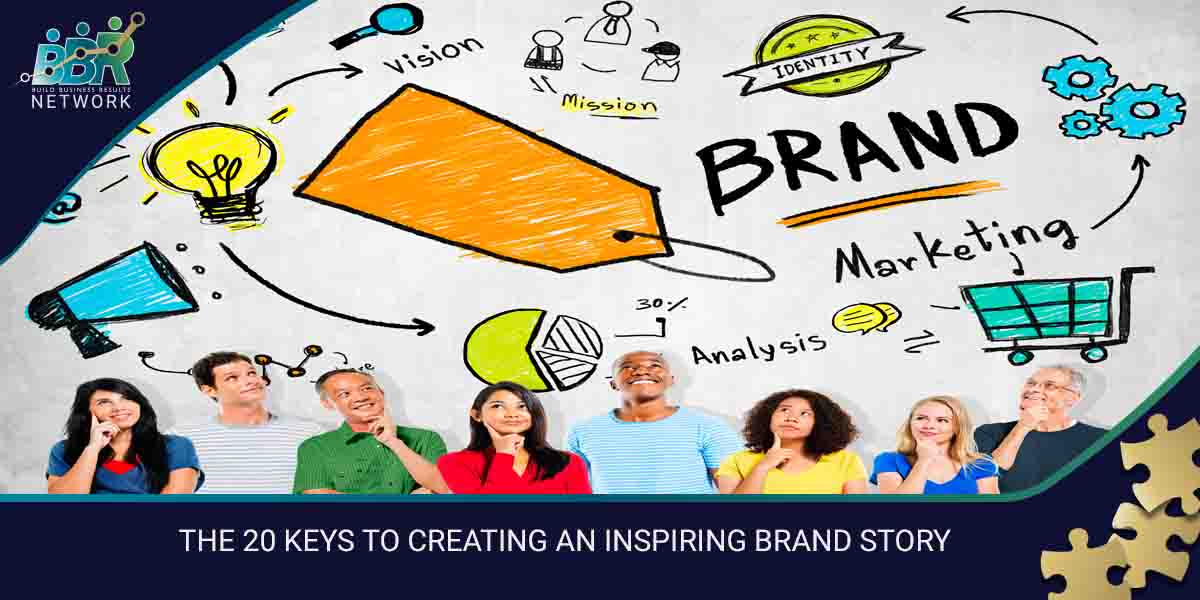 THE 20 KEYS TO CREATING AN INSPIRING BRAND STORY