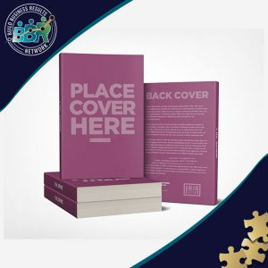 Book Cover Design with 3D Mockup Images for Social Promotion