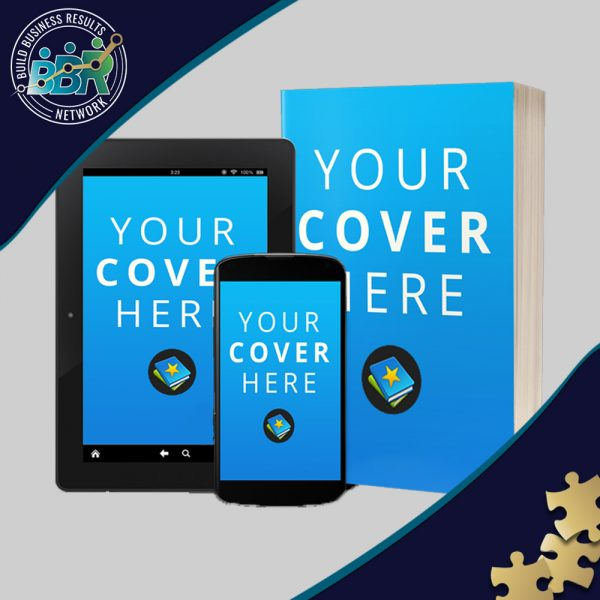 E-book Design with 3D Mockup Images for Social Promotion