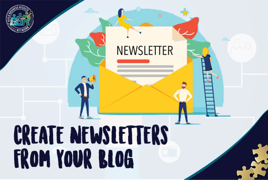 Create Email Newsletters from blog